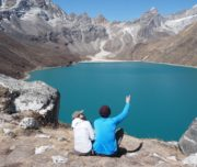 Gokyo lake Everest base camp trek via Gokyo lakes