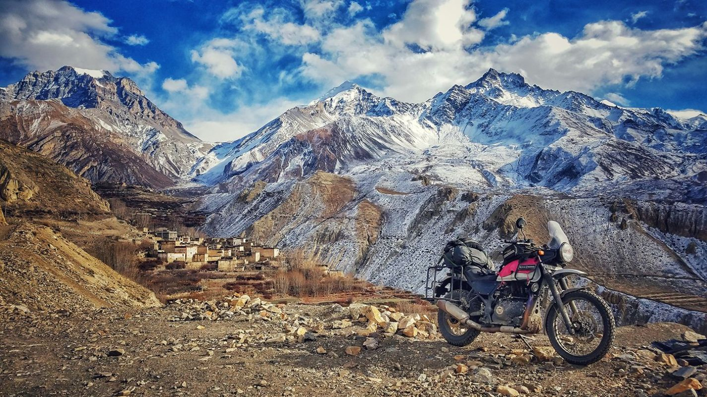 Ride to Lo Manthang